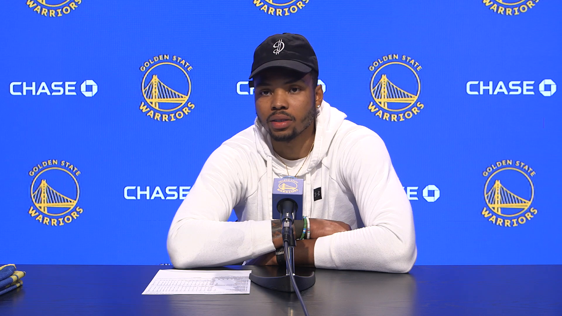 Postgame Warriors Talk: Kent Bazemore - 5/14/21