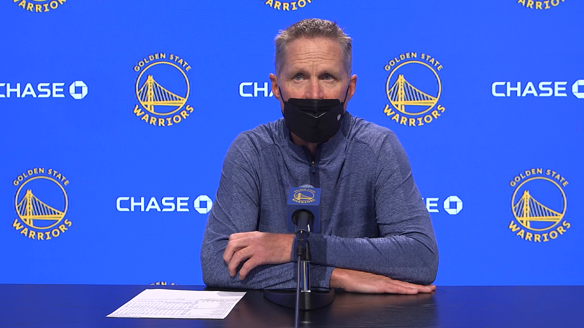 Postgame Warriors Talk: Steve Kerr - 5/14/21
