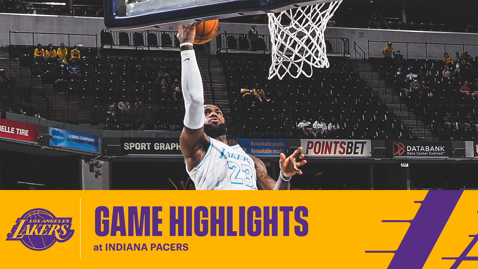 HIGHLIGHTS | LeBron James (24 pts, 8 ast, 7 reb) at Indiana Pacers
