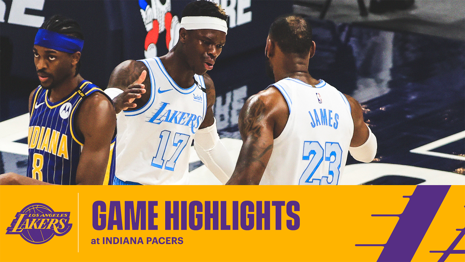 HIGHLIGHTS | Los Angeles Lakers at Indiana Pacers