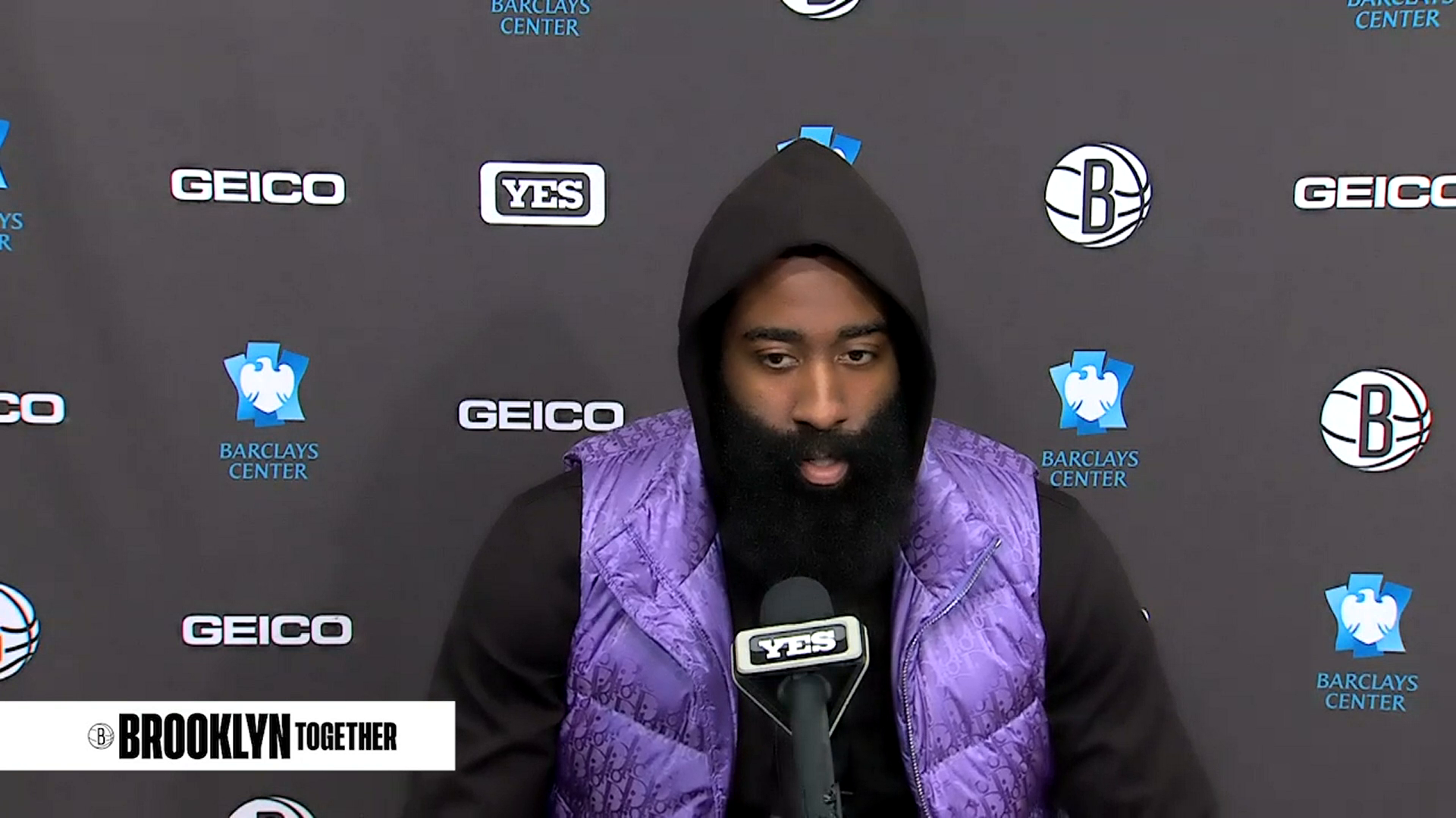 James Harden: Postgame vs. Bulls
