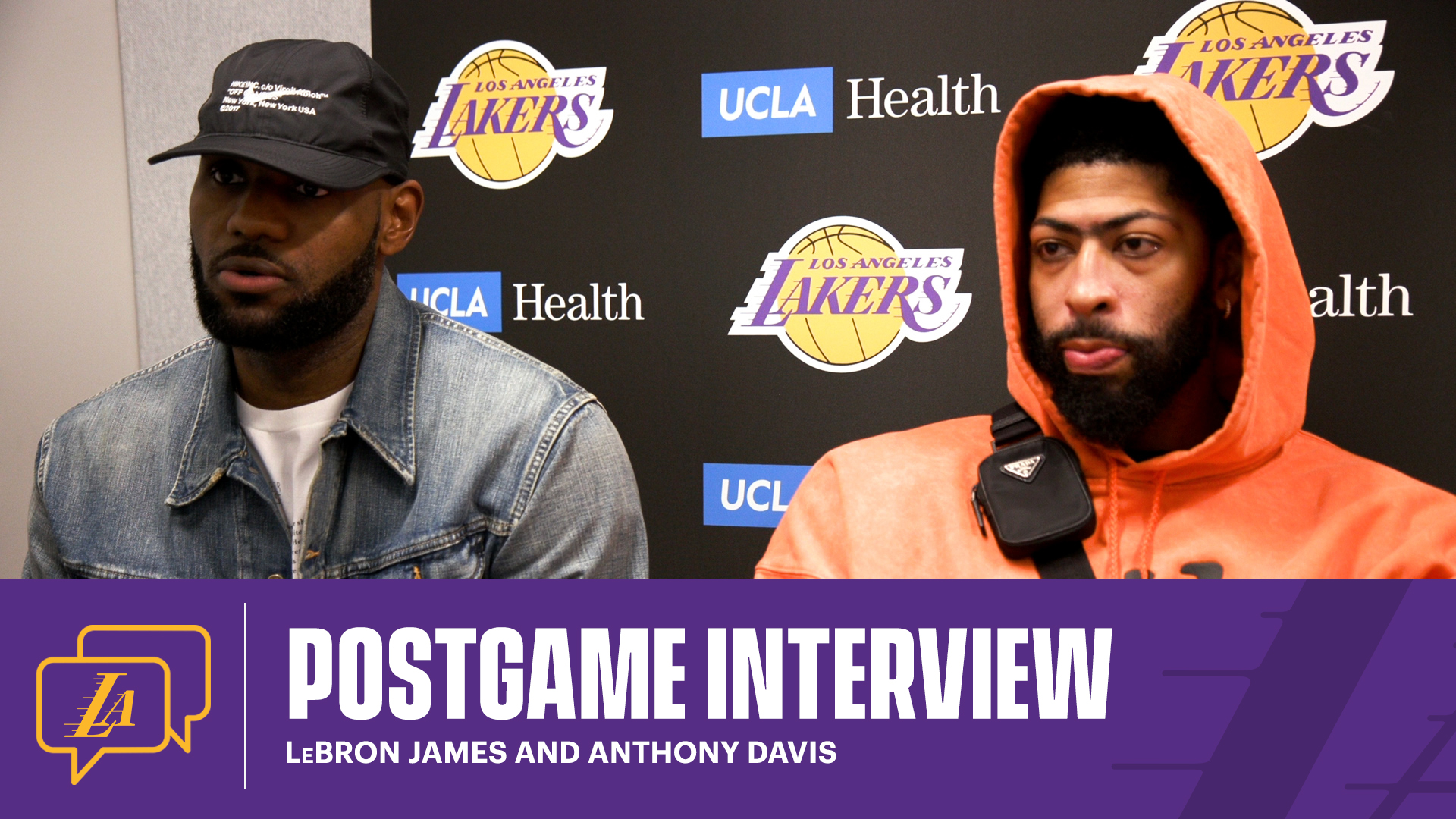Lakers Postgame: LeBron James and Anthony Davis (5/15/21)