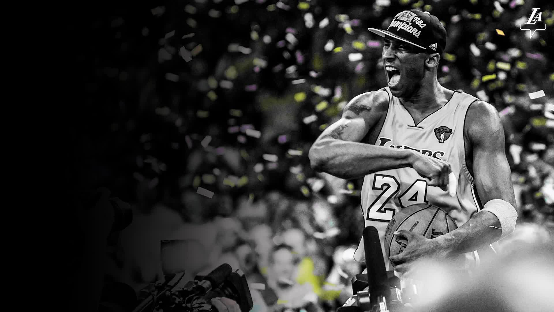 You changed the game. You inspired the world. Thank you, Kobe.