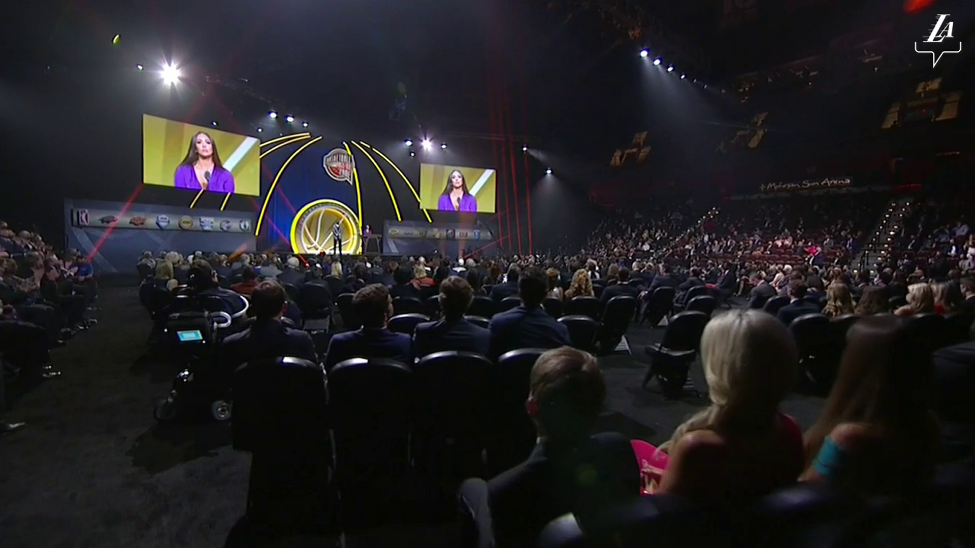 Vanessa Bryant's Speech for Kobe's Hall of Fame Induction