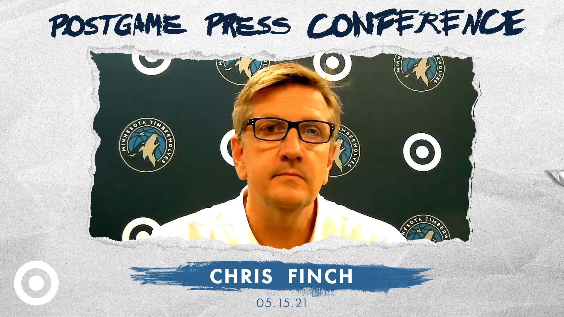 Chris Finch Postgame Press Conference - May 15, 2021