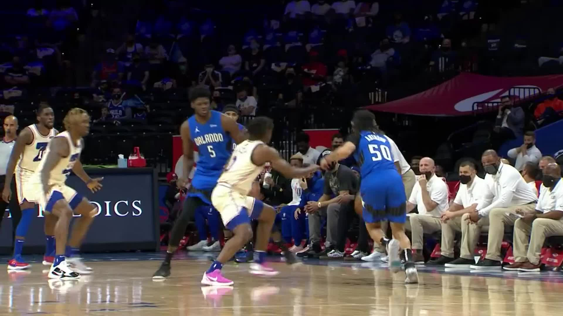 Cole Anthony's 13-Point First Quarter
