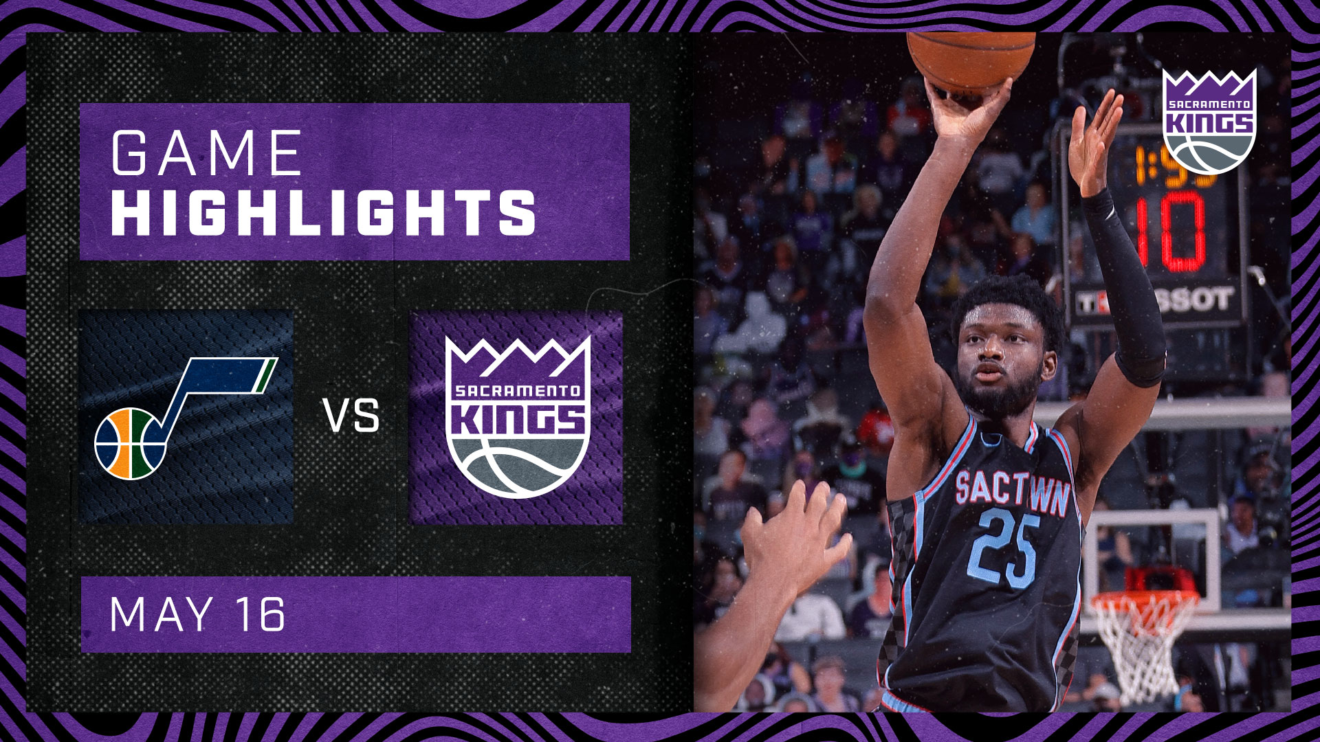 Kings Close Out the Season at Golden 1 Center | Kings vs Jazz 5.16.21