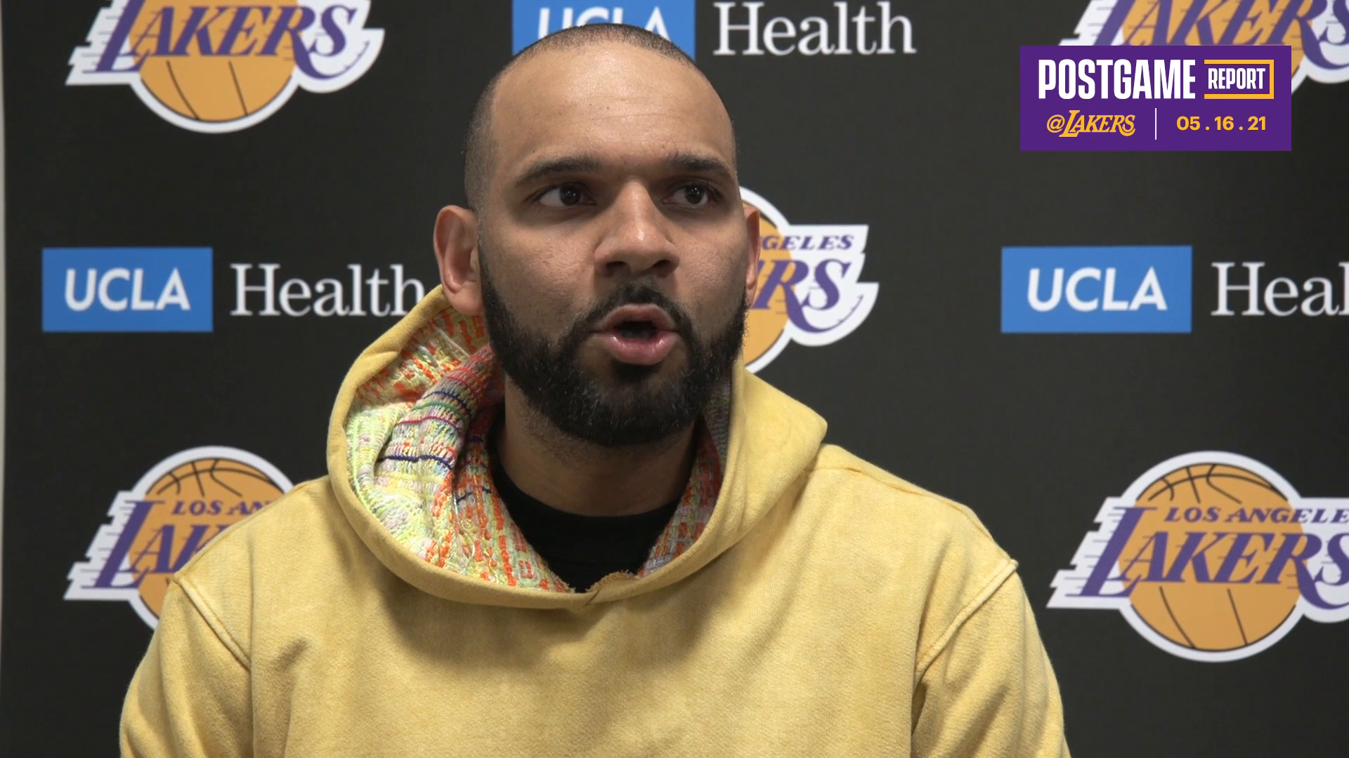 Lakers Postgame: Jared Dudley (5/16/21)
