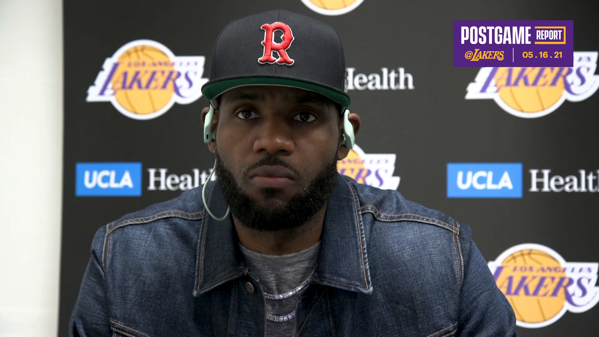 Lakers Postgame: LeBron James (5/16/21)