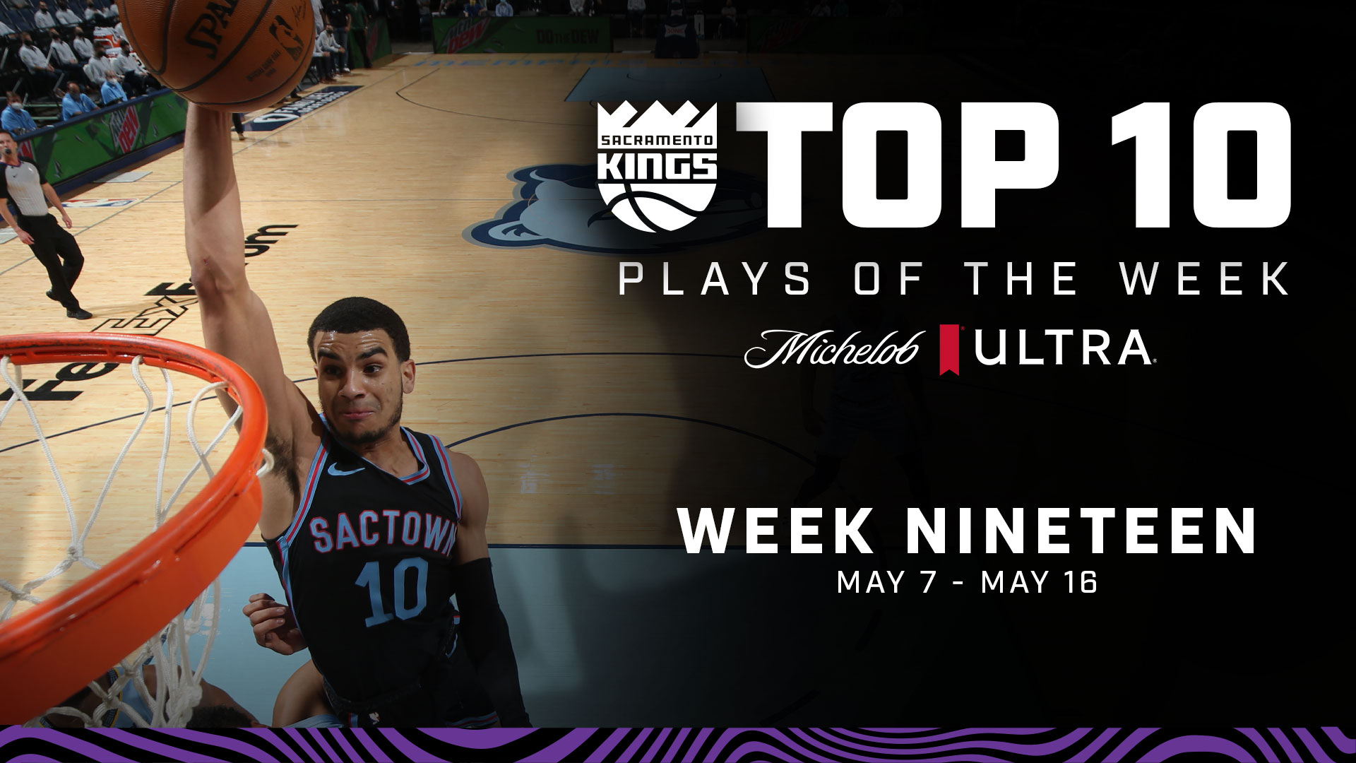 Kings Top 10 Plays of the Week | Week 19