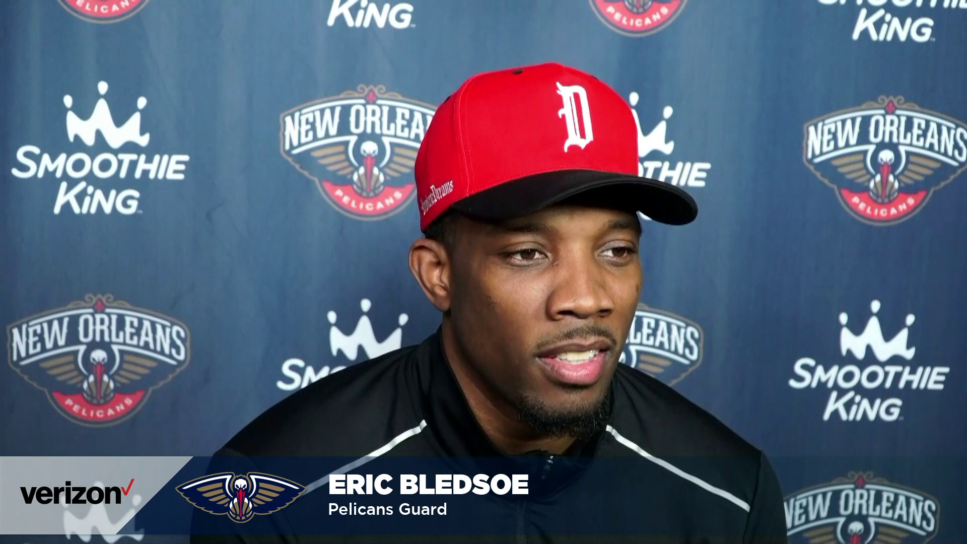 Eric Bledsoe End of Season Press Conference | 2020-21 Pelicans Season