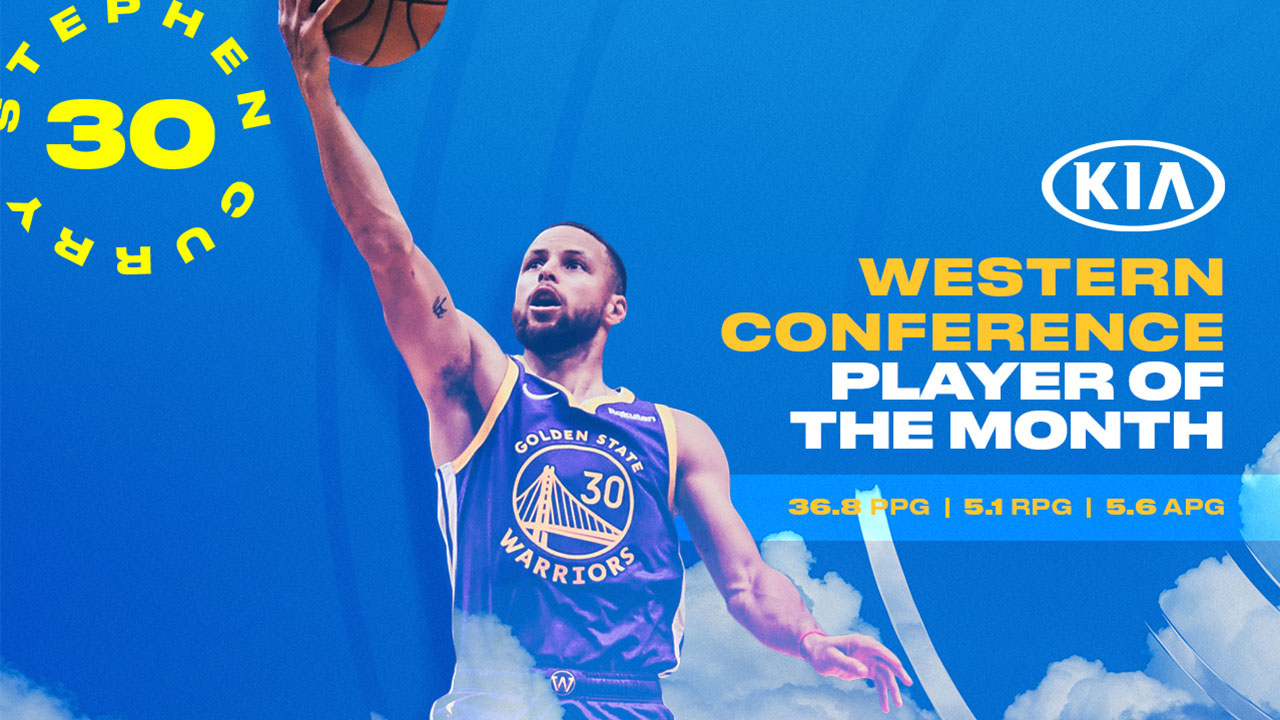 Player of the Month: Stephen Curry