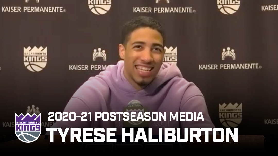 Tyrese Haliburton Reflects on Rookie Year | Postseason Media 2020-21