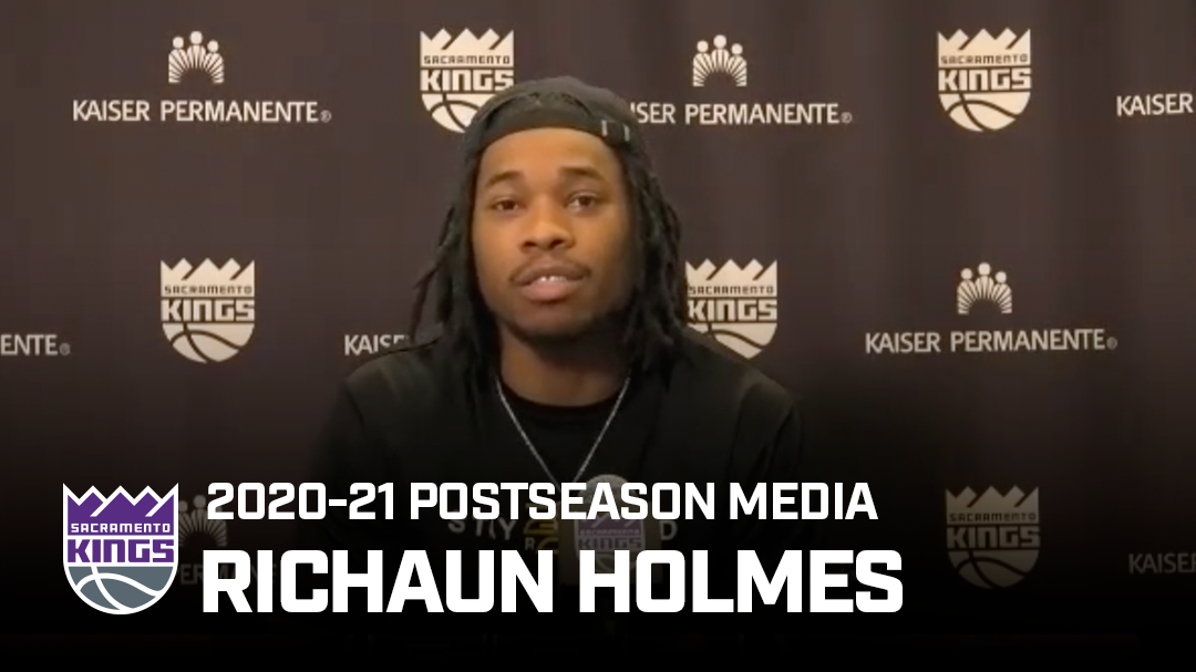 Richaun Holmes Shares Love for Sacramento | Postseason Media 2020-21