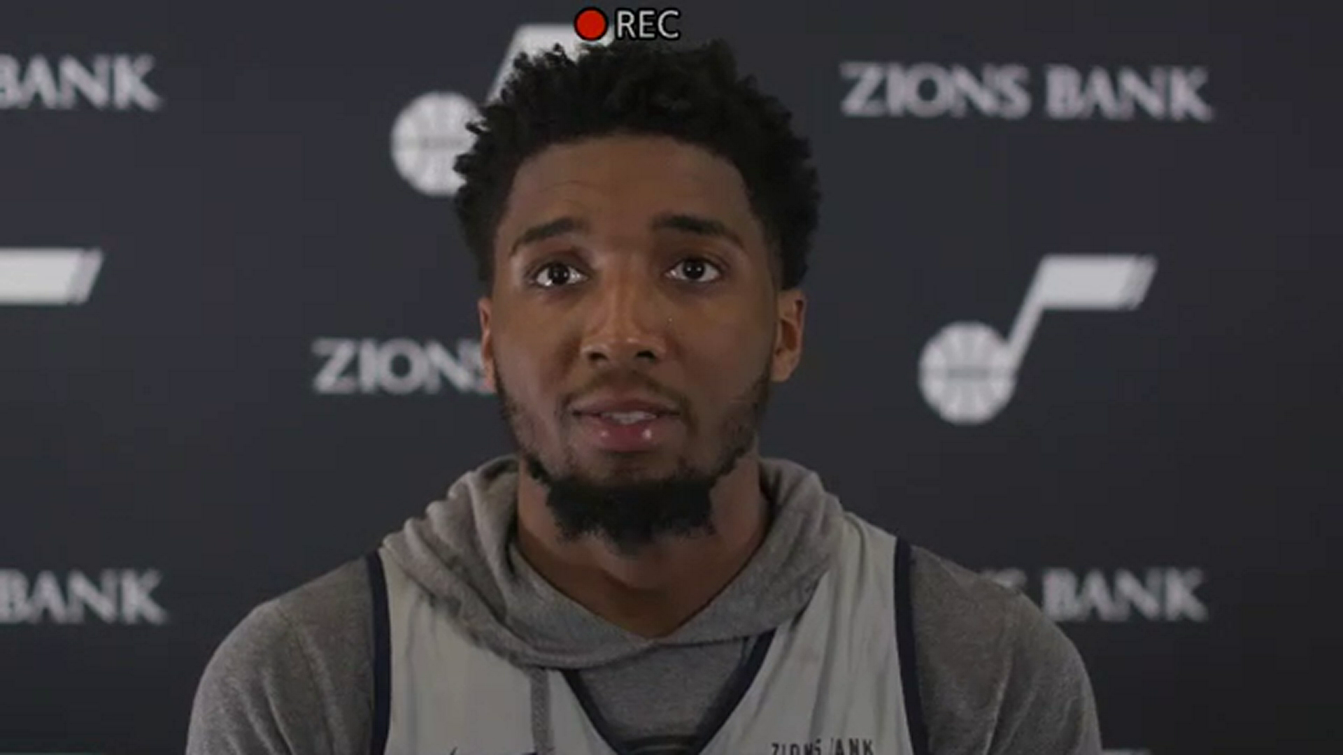 Shootaround 5.20—Donovan Mitchell talks to the media for the first time since injury