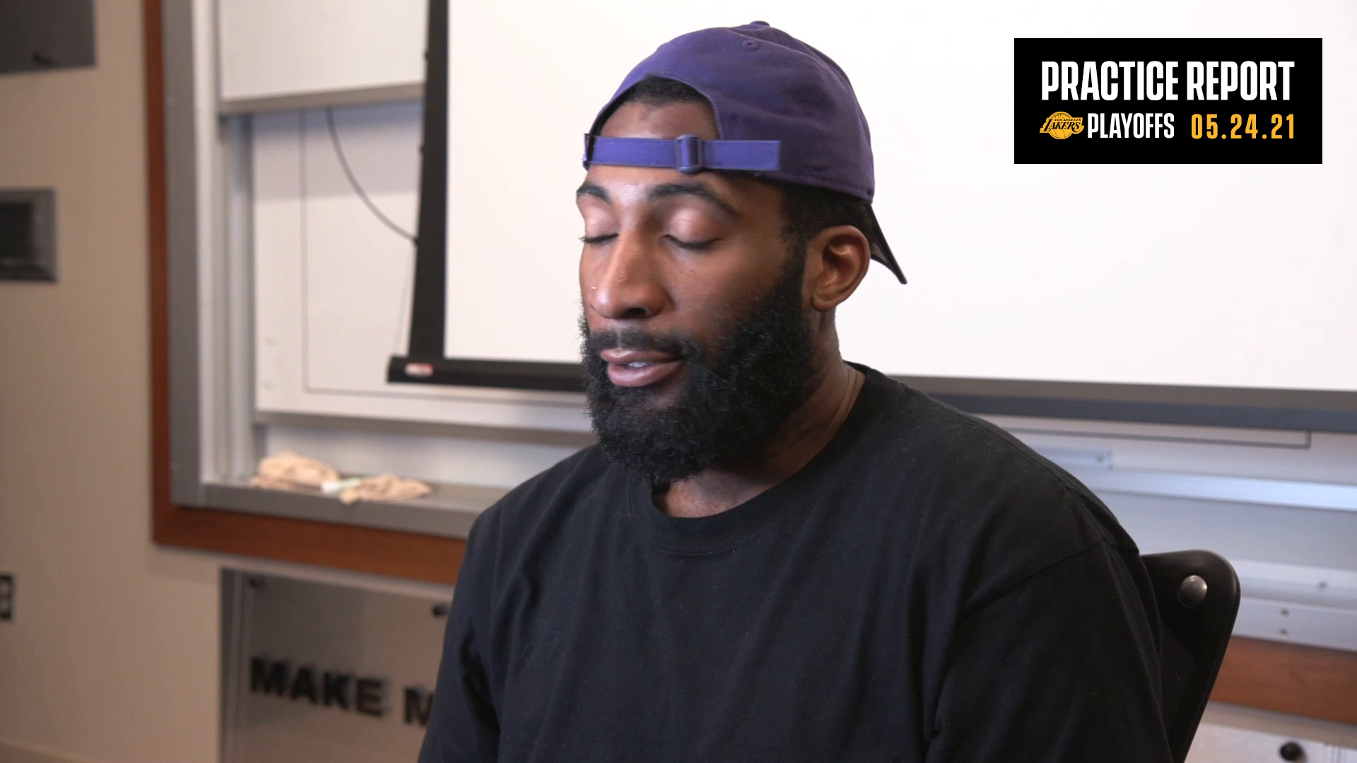 Lakers Practice Report: Andre Drummond (5/24/21)