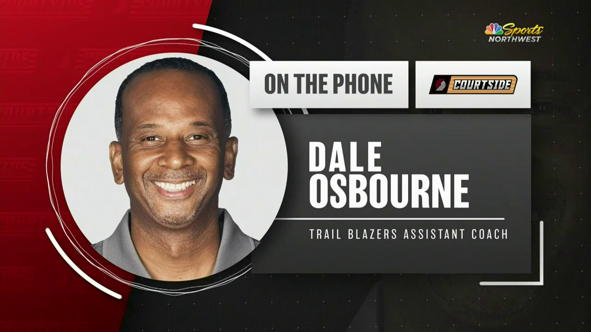 Assistant Coach Dale Osbourne Joins Trail Blazers Courtside