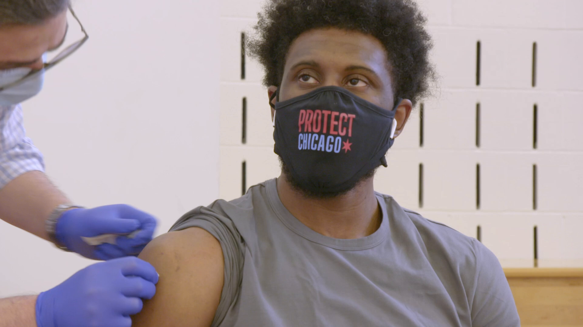 Join the Team: Bulls Players Get Vaccinated