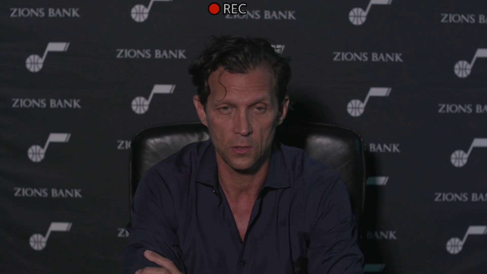 Practice 5.28—Quin Snyder talks about fan incident, facing Memphis in Game 3