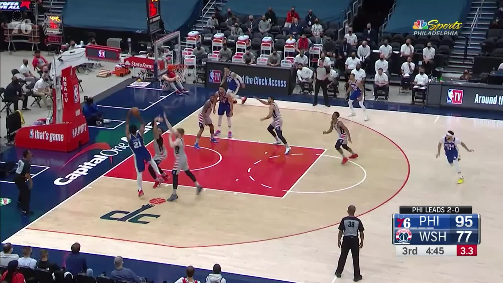 Highlights | 76ers @ Wizards (05.29.21)