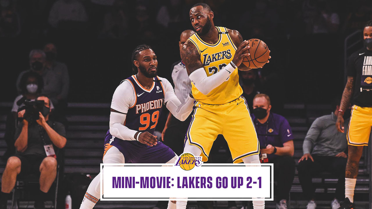 Mini-Movie: Lakers Win 1st Home Playoff Game in 8 Years