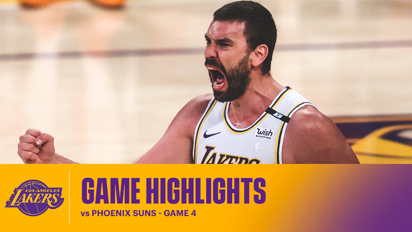 HIGHLIGHTS | Los Angeles Lakers vs Phoenix Suns - Game 4
