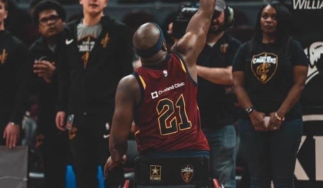 Wheelchair Cavaliers Player of the Month: Anthony Robinson