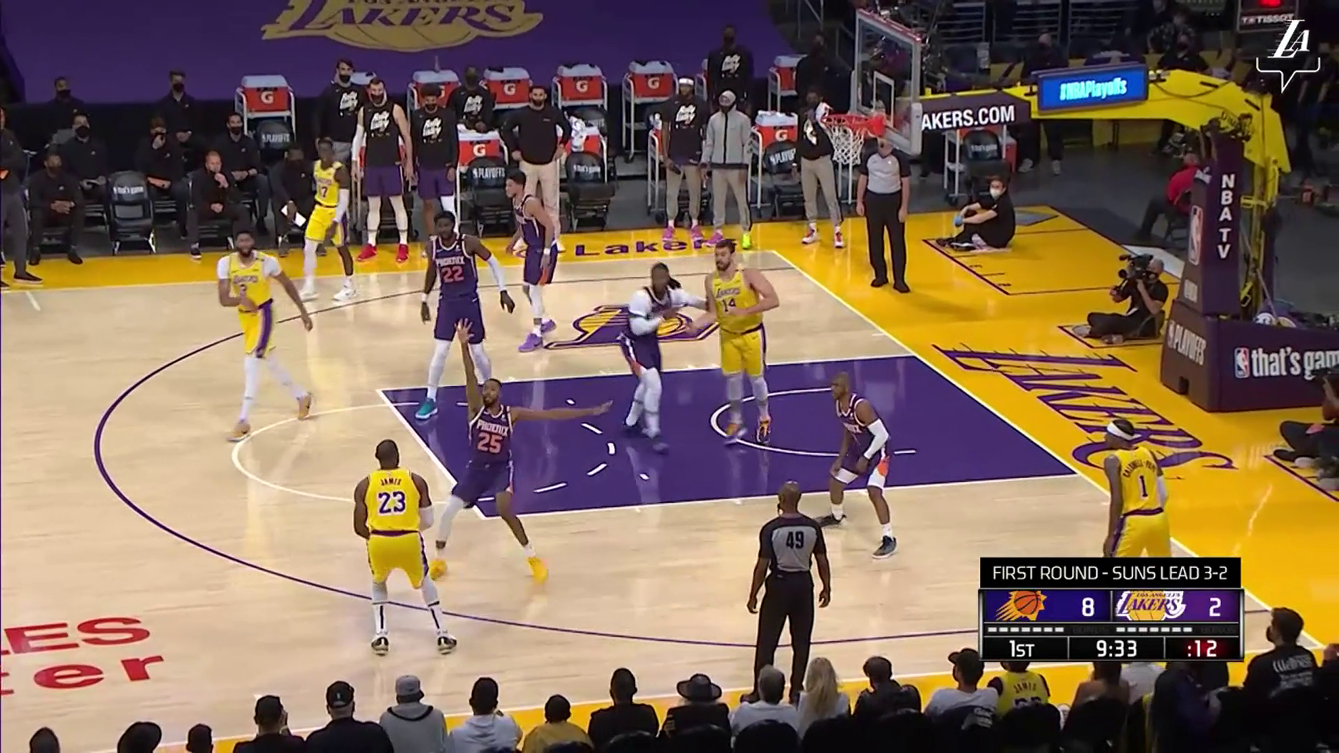 HIGHLIGHTS | Los Angeles Lakers vs Phoenix Suns - Game 6