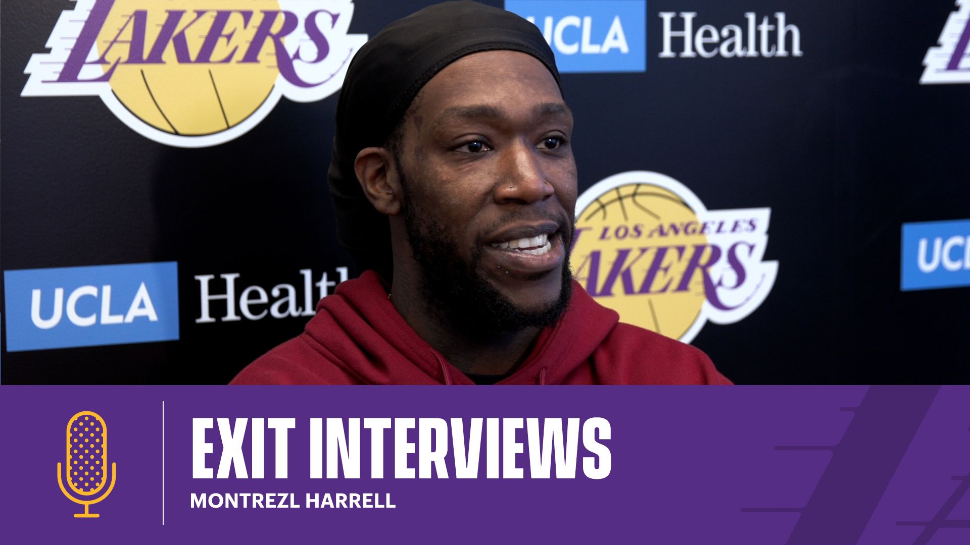 Montrezl Harrell | 2020-21 Lakers Exit Interviews