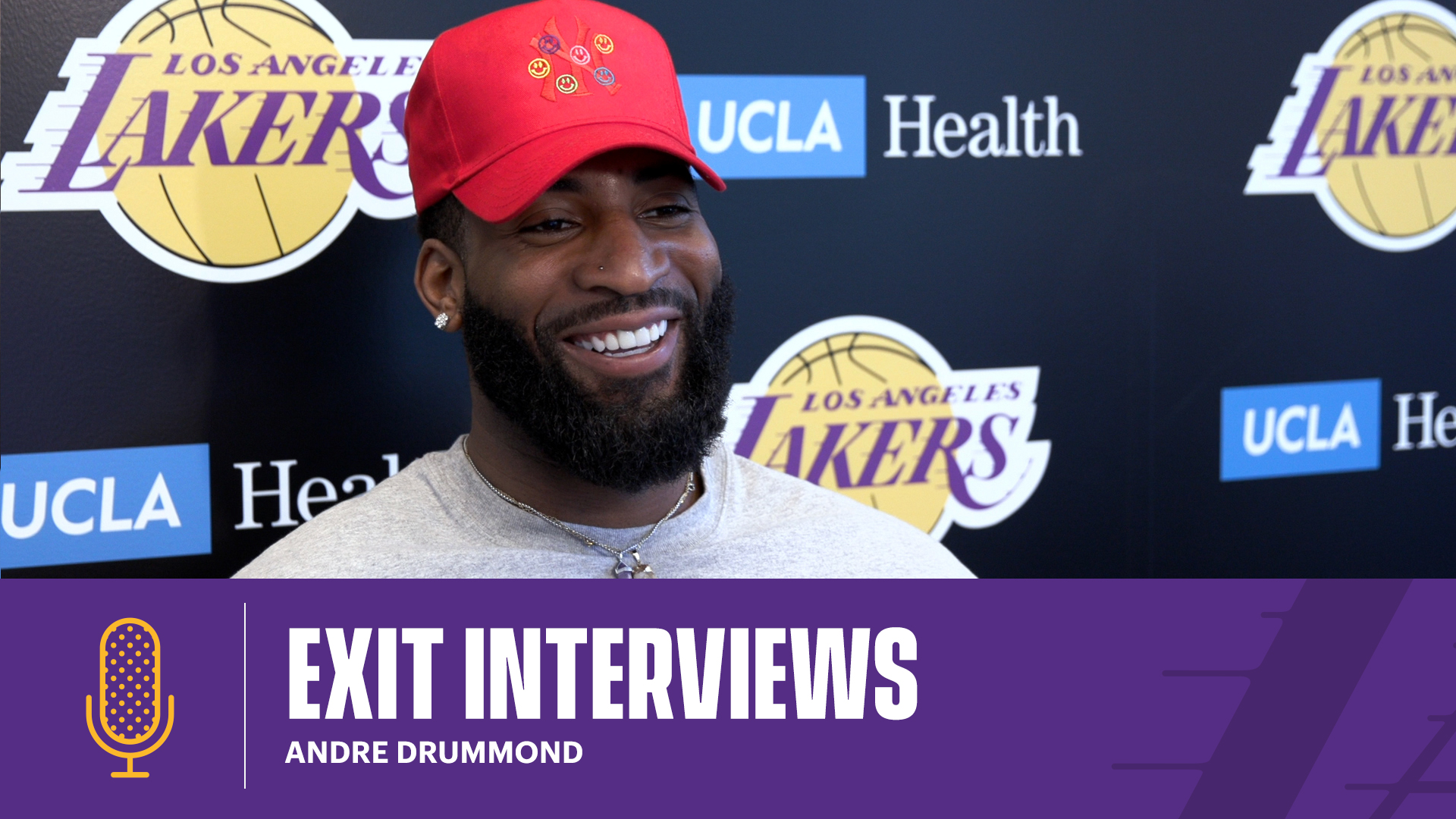 Andre Drummond | 2020-21 Lakers Exit Interviews