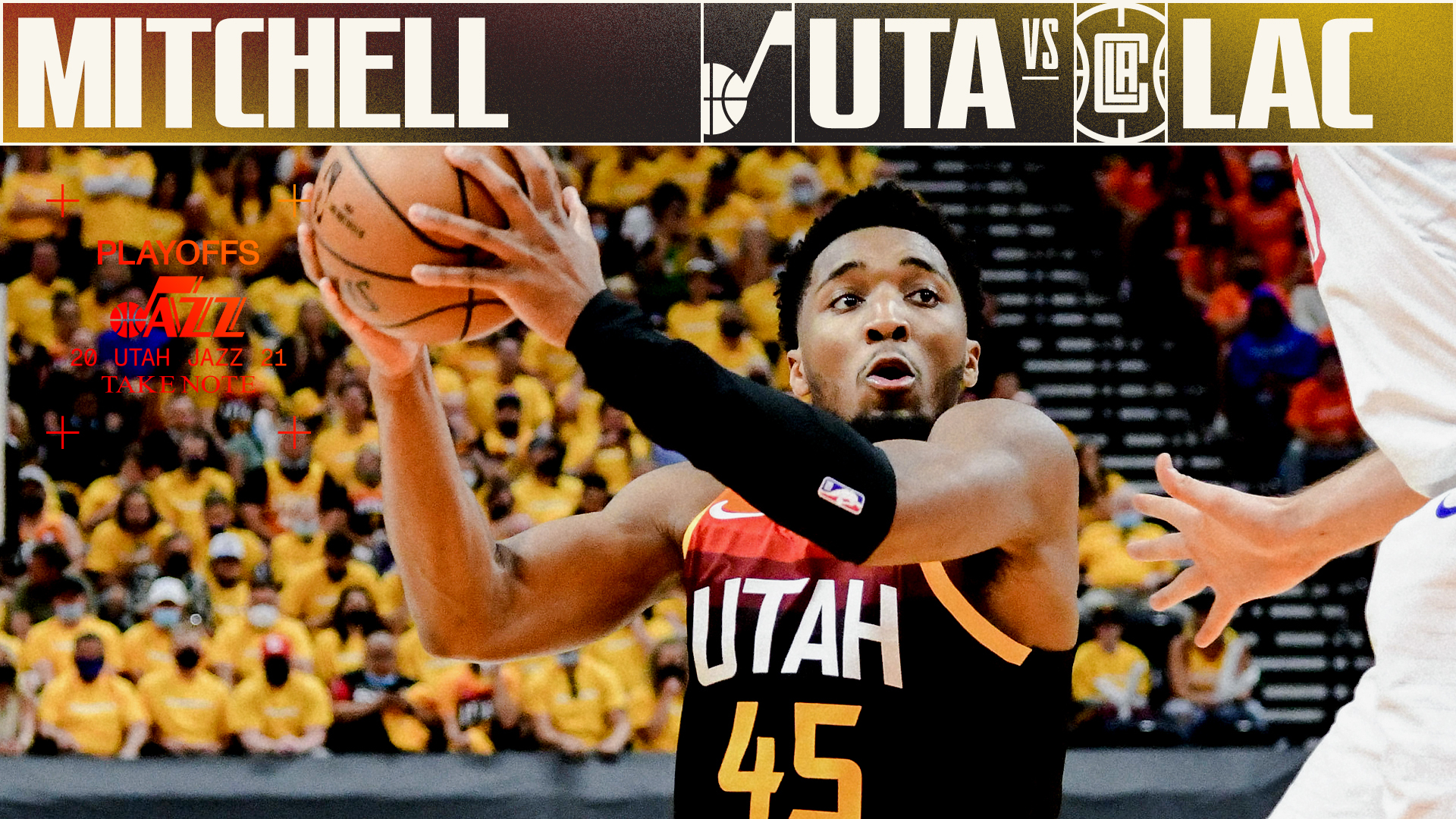 Highlights: Donovan Mitchell — 45 points, 5 assists