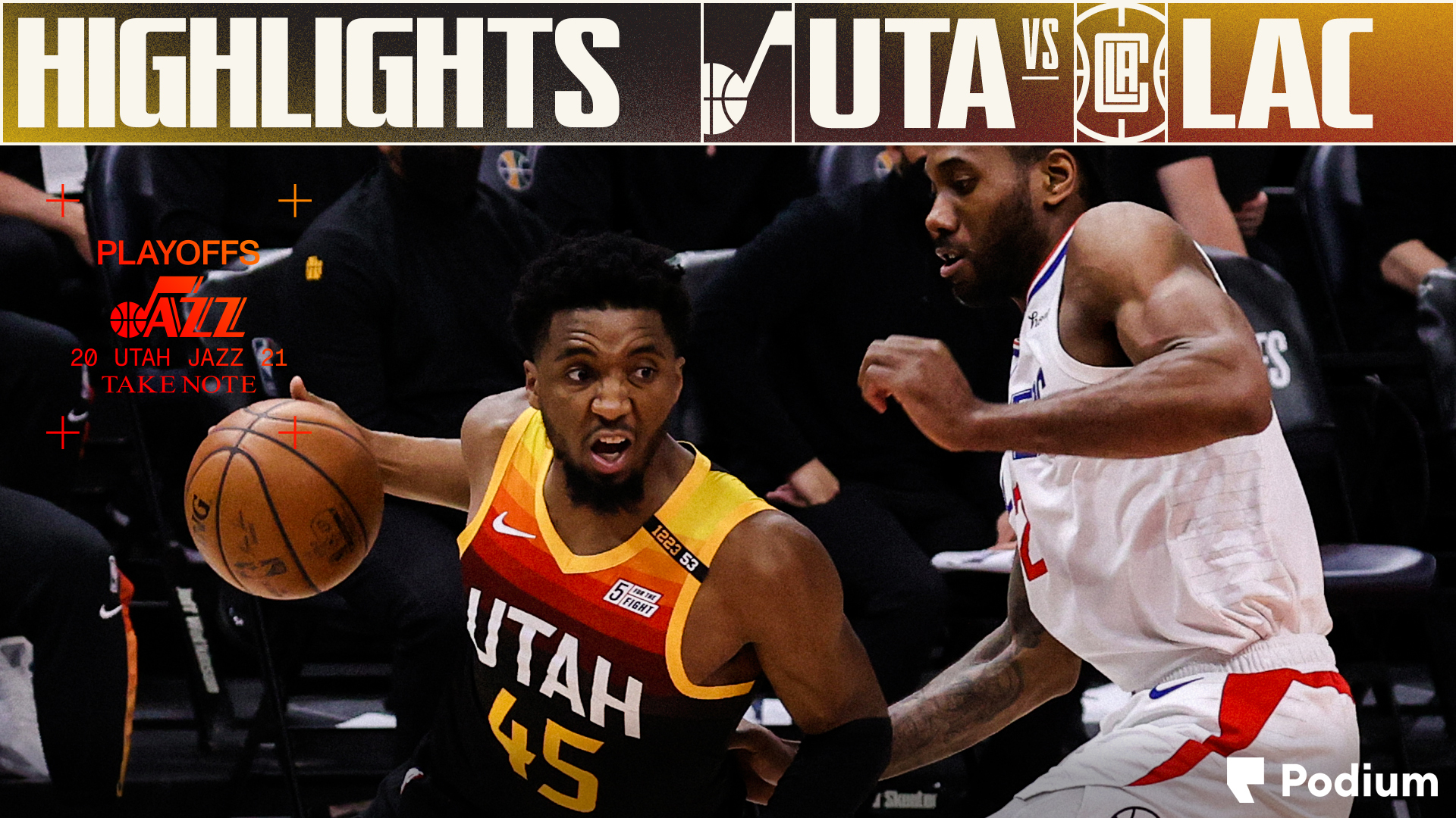 Highlights: Jazz 117   Clippers 111