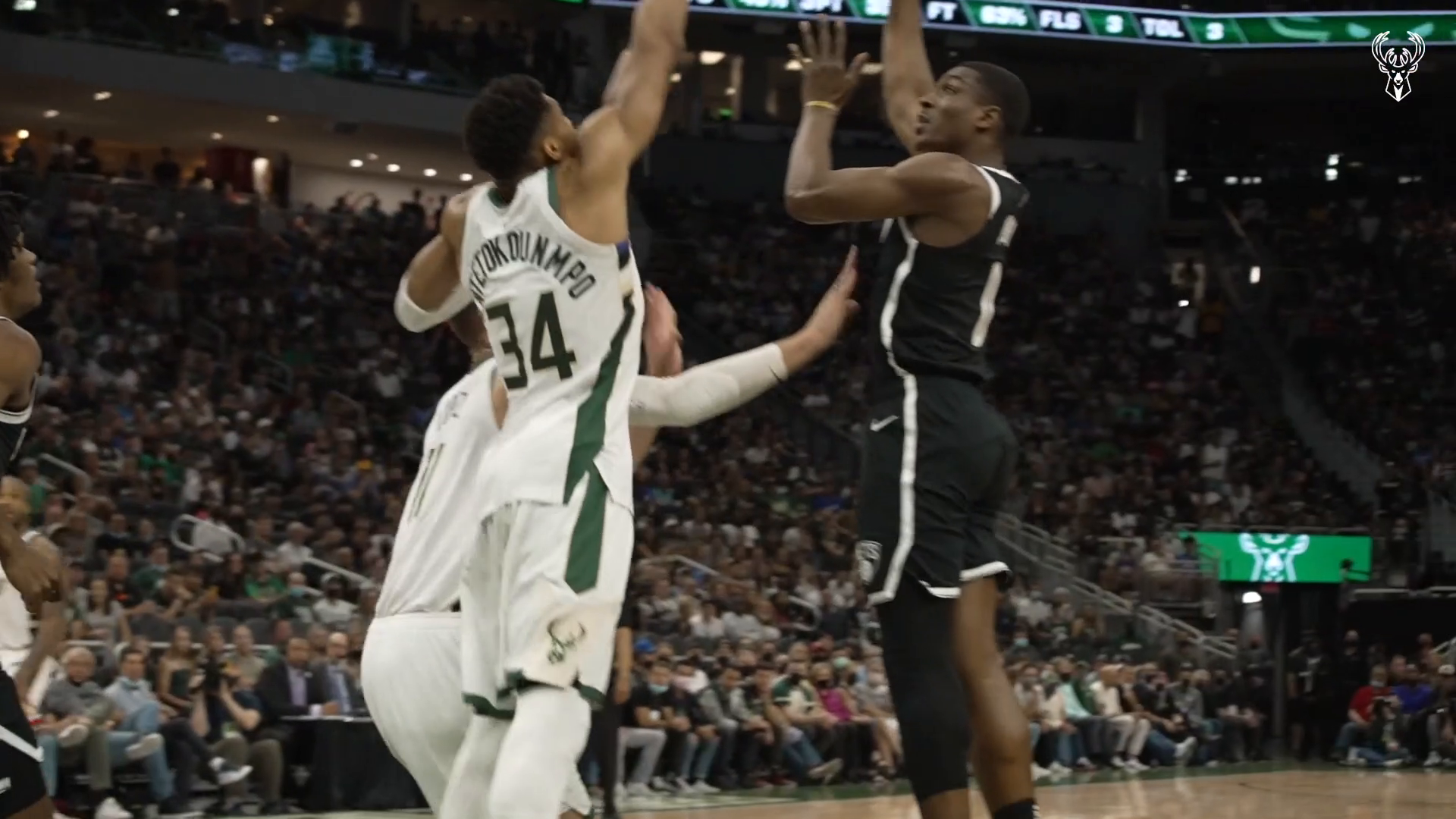 Fiserv Fastbreak: Giannis With The Exclamation Point!