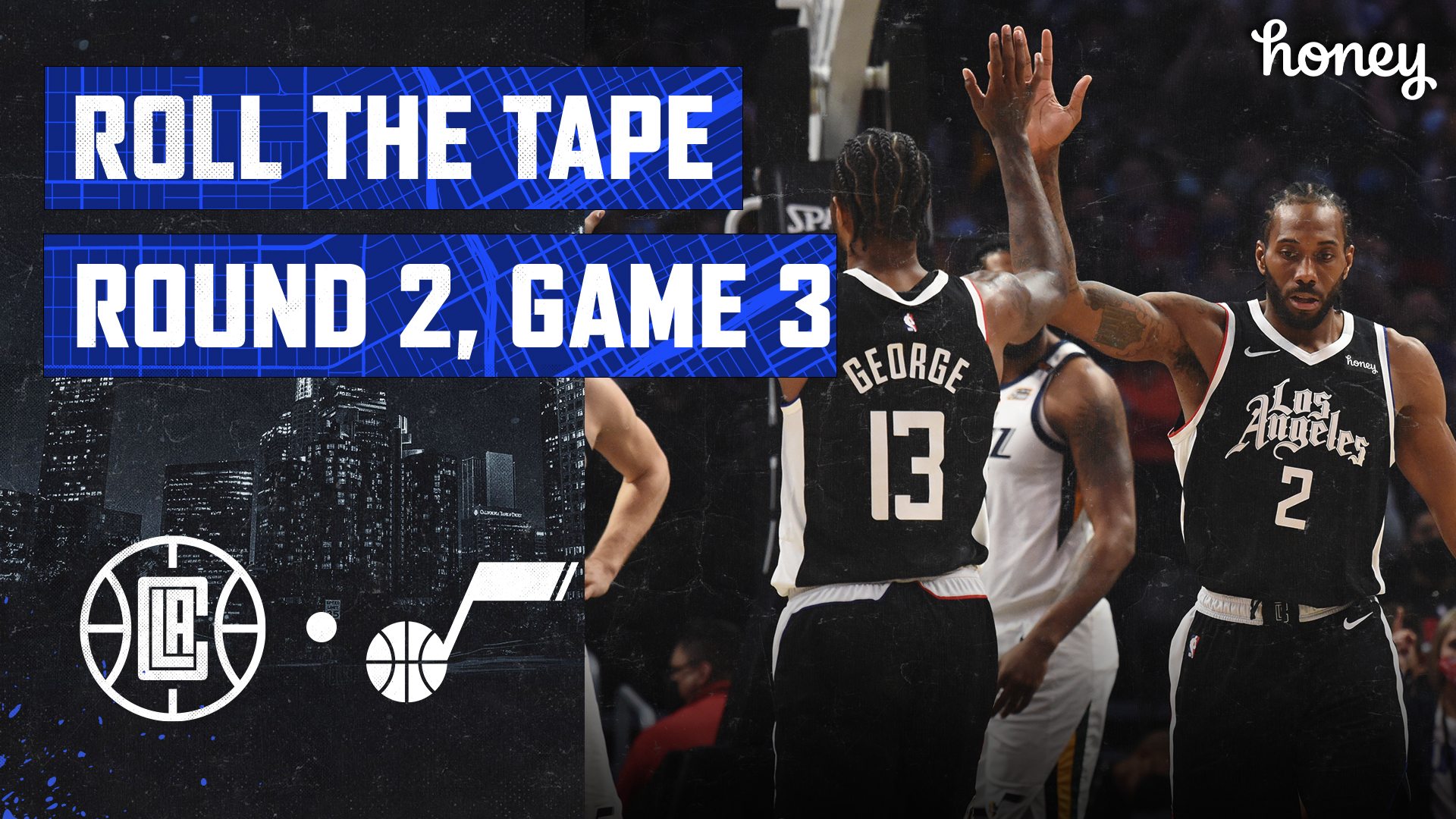 Roll The Tape | Clippers Explode for 26-Point Win Over Jazz in Game 3 (6.12.21)