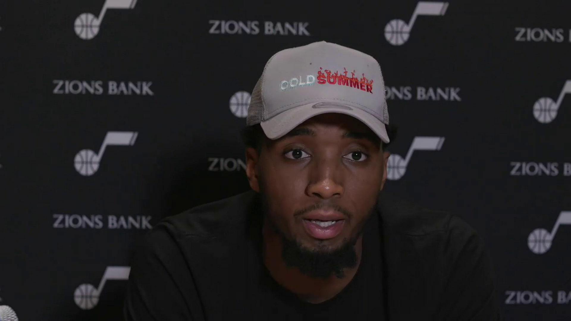 Practice 6.13—Donovan Mitchell says there's room for improvement in the series