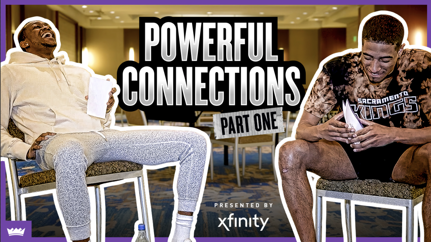 Powerful Connections with De'Aaron Fox and Tyrese Haliburton, Presented by Xfinity | Part 1