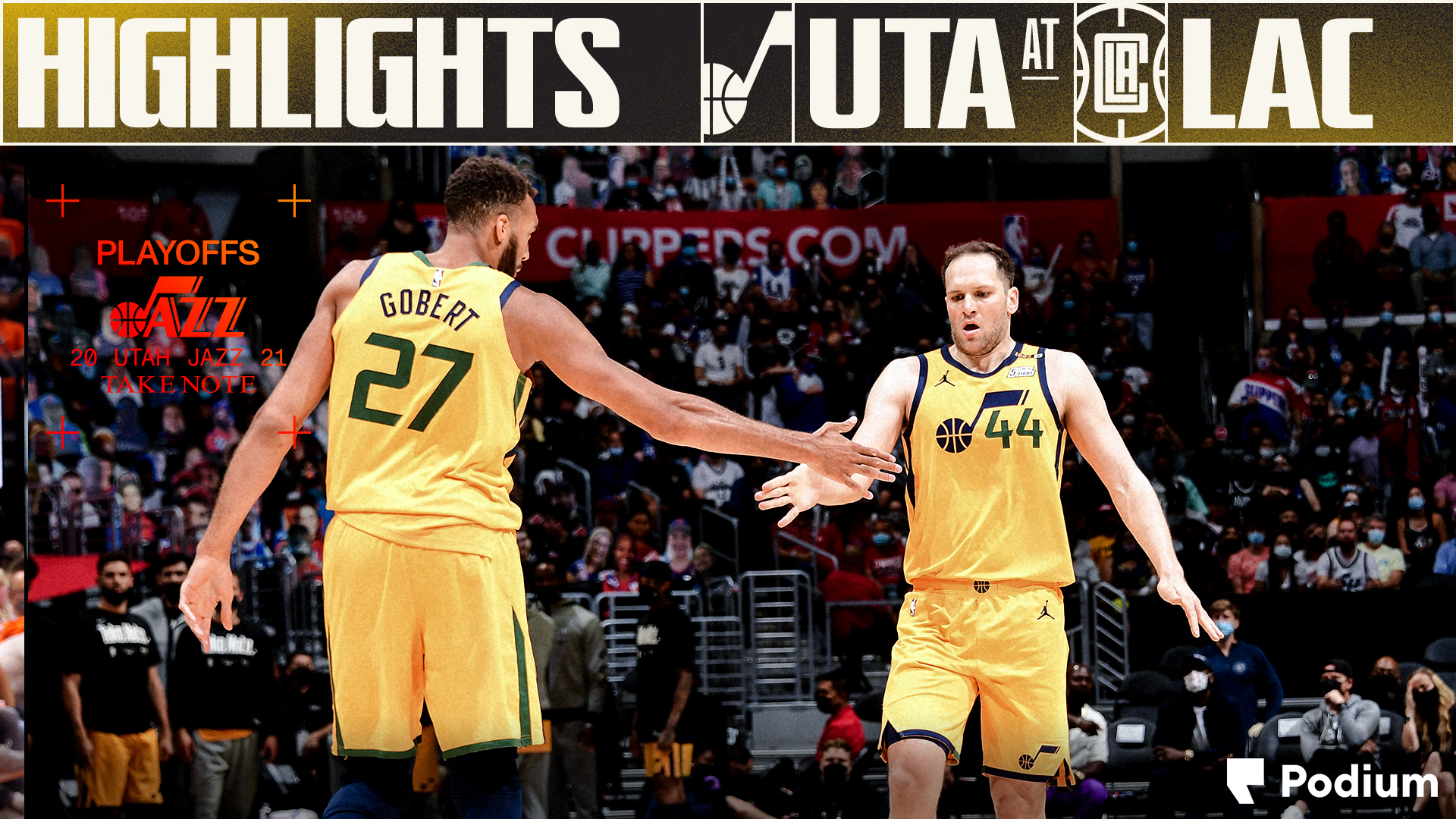Highlights: Jazz 104   Clippers 118