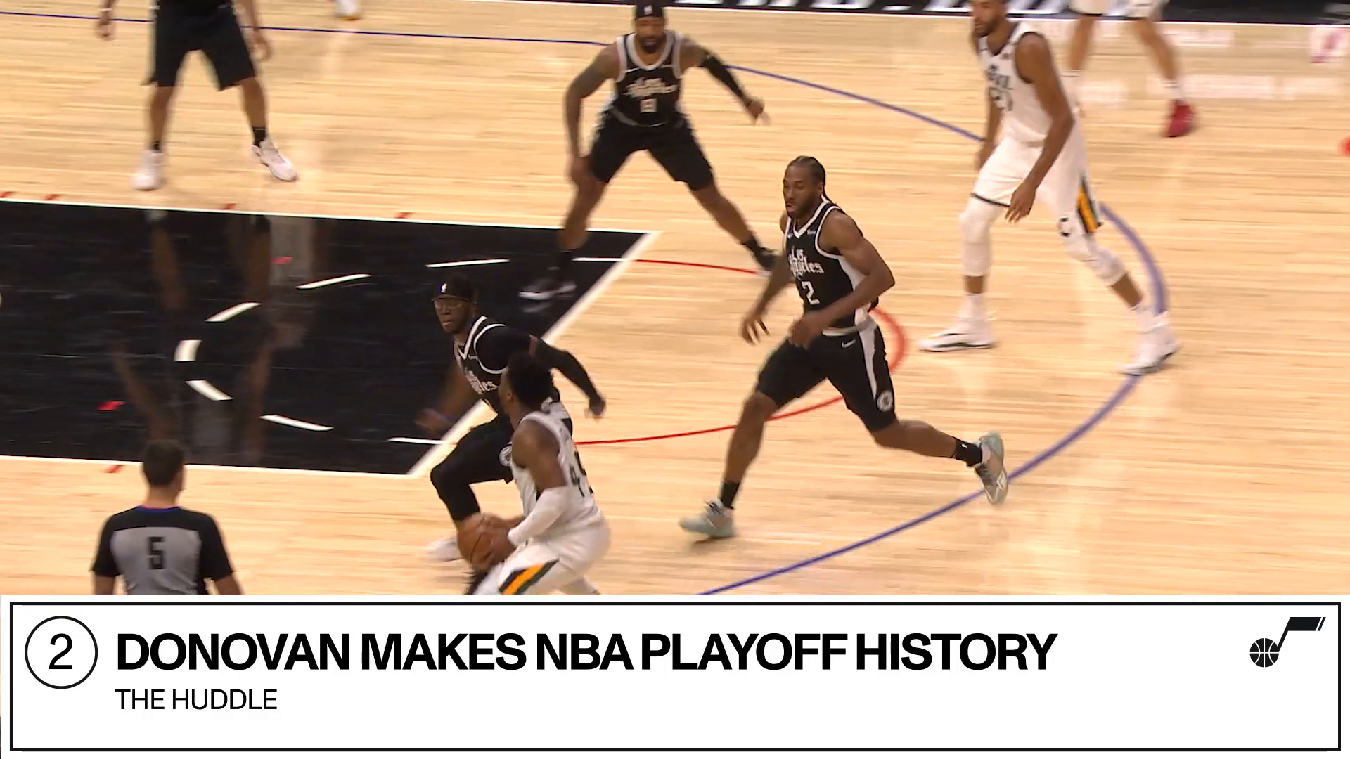 The Huddle: Game 5, Donovan makes history + vote for NBA Community Assist
