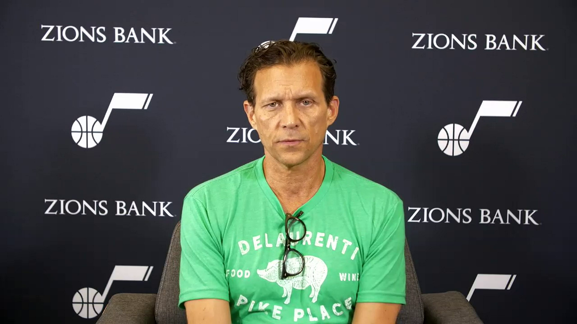 Practice 6.17—Quin Snyder says he only feels positive about his group