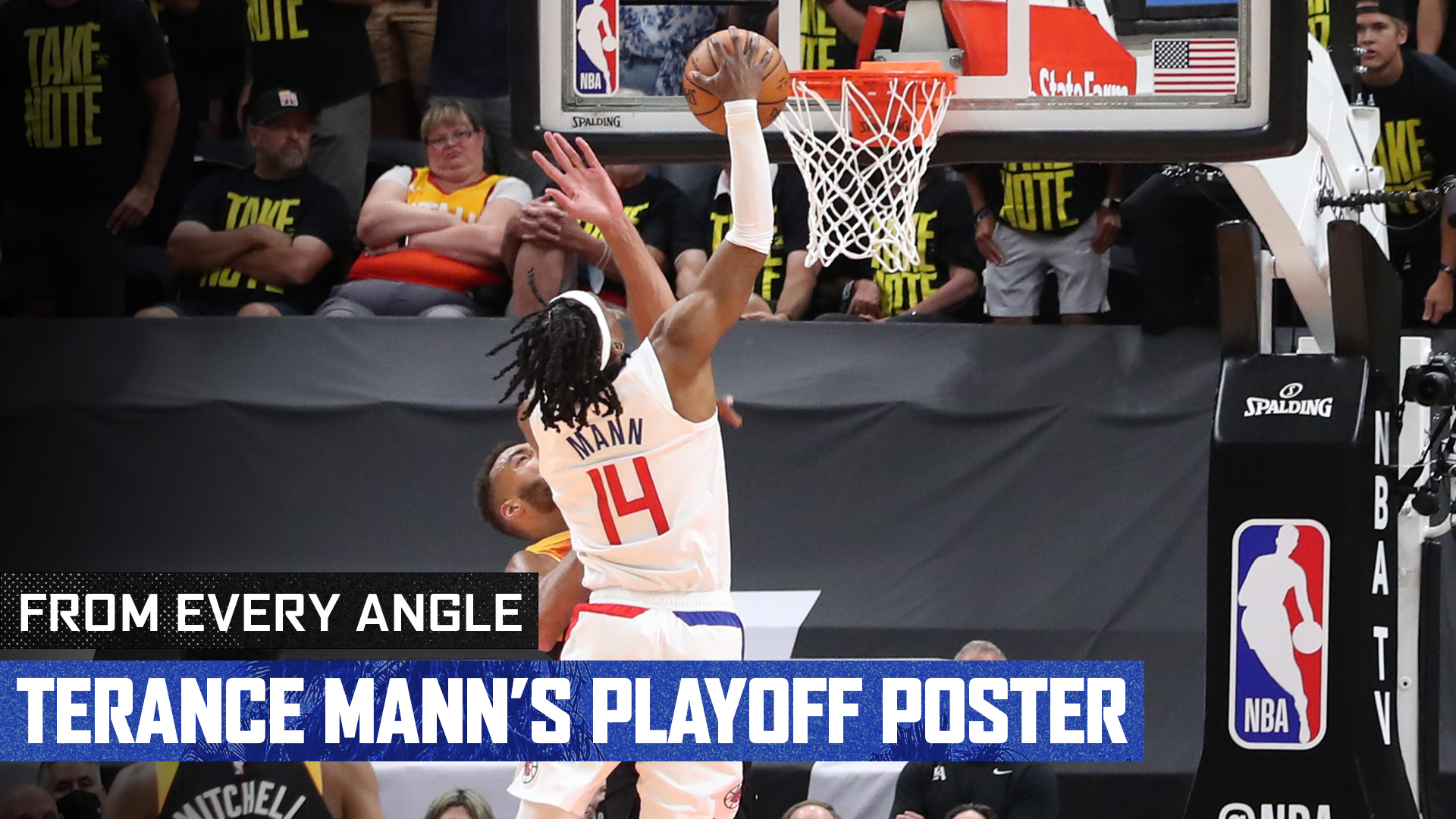 From Every Angle | Terance Mann's Playoff Poster (6.16.21)