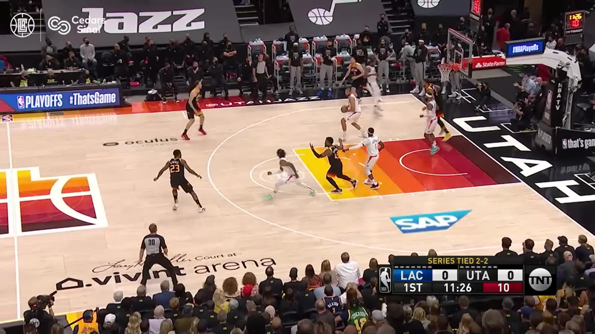 Cedars-Sinai Preventive Play of the Game | Clippers vs Jazz Game 5 (6.16.21)