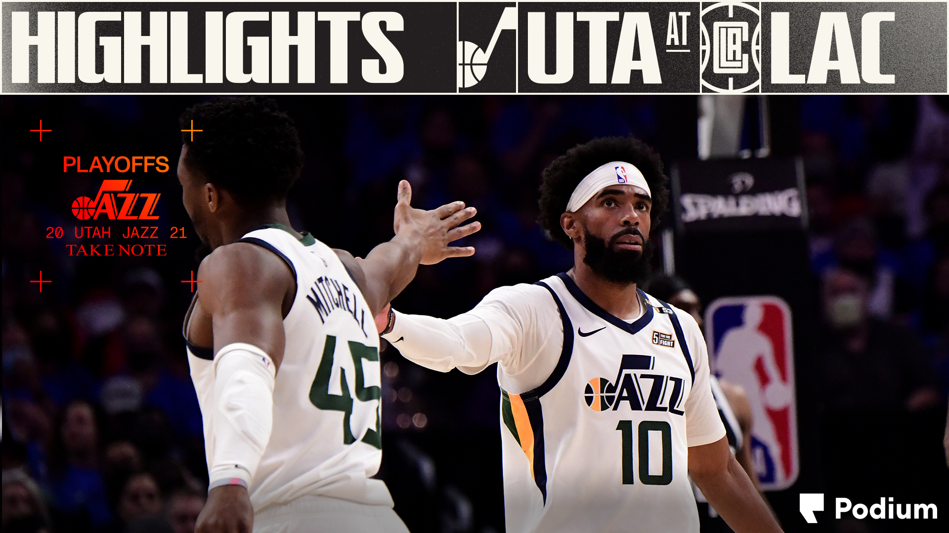 Highlights: Jazz 119 | Clippers 131