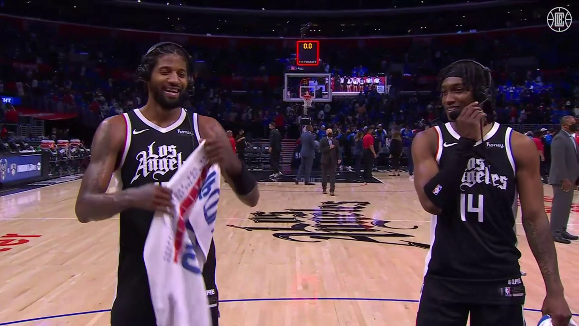 George and Mann on Advancing to WCF | Clippers vs Jazz (6.18.21)