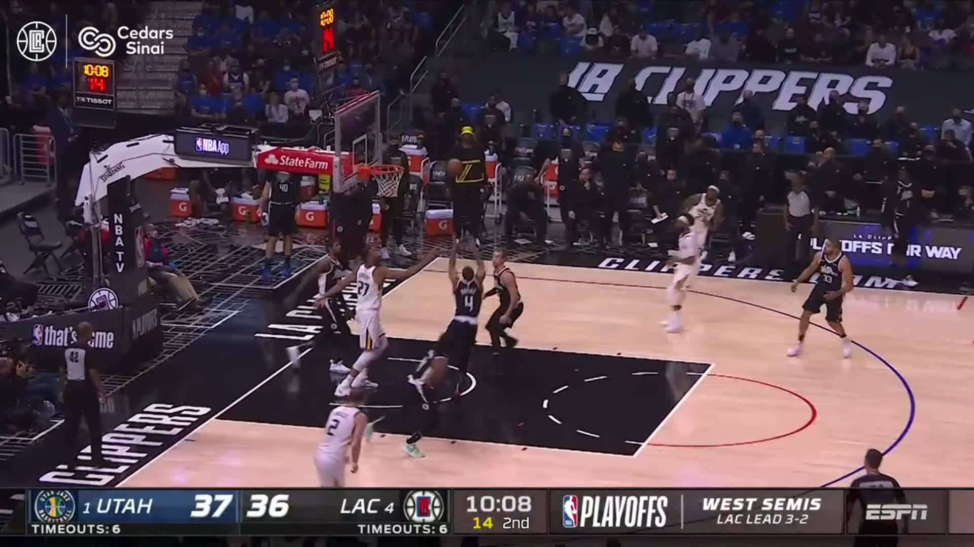 Cedars-Sinai Preventive Play of the Game | Clippers vs Jazz Game 6 (6.18.21)