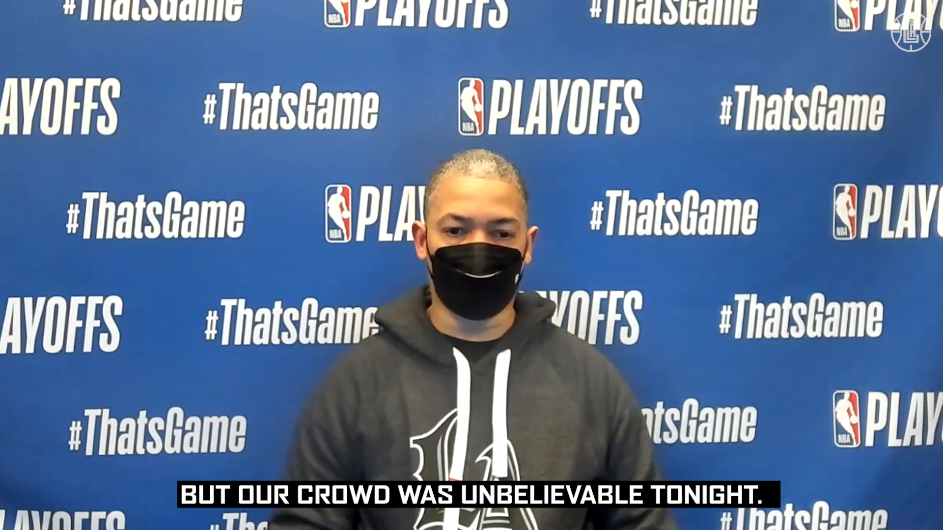 Lue on the Home Crowd | Clippers vs Jazz (6.18.21)