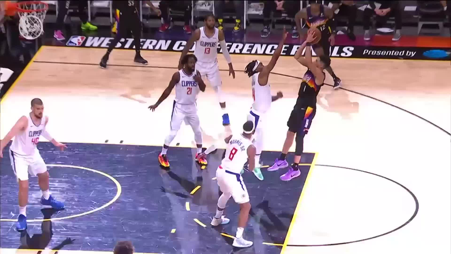 Suns vs Clippers Highlights: Game 1