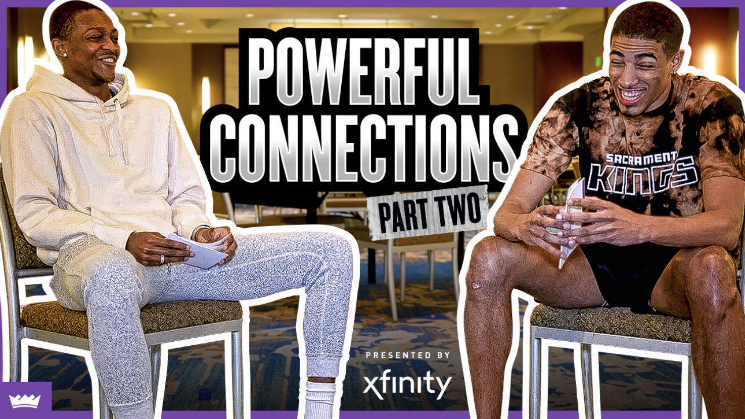 Powerful Connections with De'Aaron Fox and Tyrese Haliburton, Presented by Xfinity | Part 2