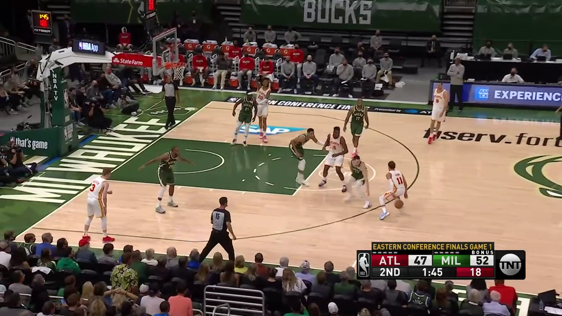 Young Puts On Outstanding Performance vs. Bucks