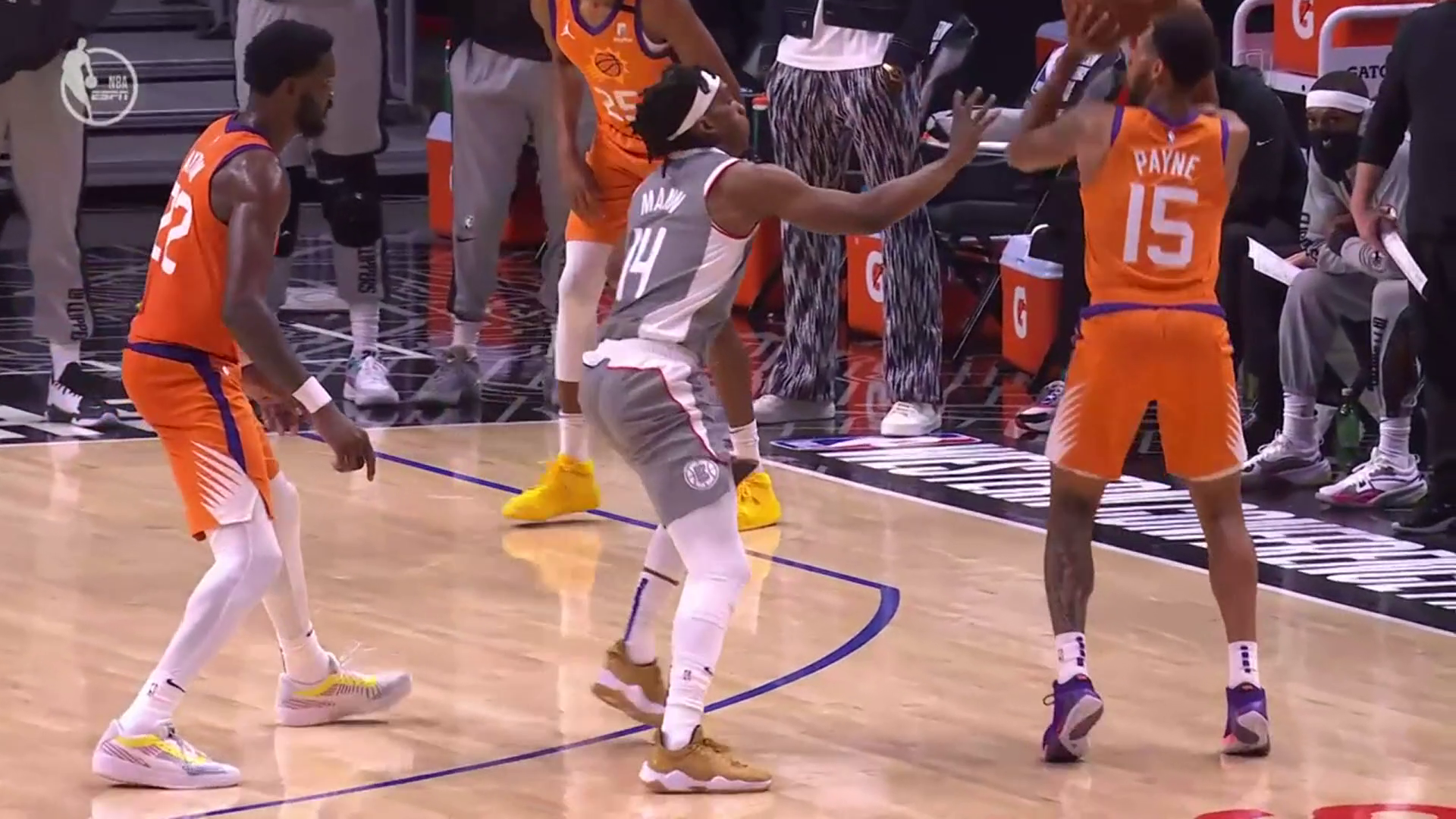 Suns vs Clippers Highlights: Game 4