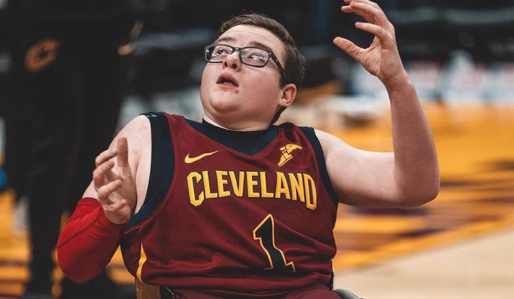 Wheelchair Cavaliers Player of the Month: Elijah Yoder